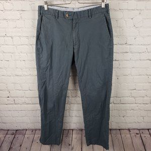 Peter Millar Navy Soft Touch Twill Trousers Pants